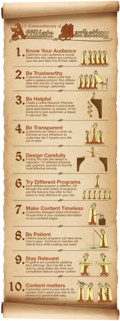Affiliate Marketing Commandments